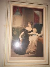 ANTIQUE GILT FRAMED MEZZO TINT ALFRED BELL SIGNED JACKSON STODART MOTHER & CHILD
